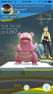"I'm not sure how I will feel if Niantic surprises me by assigning a gender to ""The Dude"","